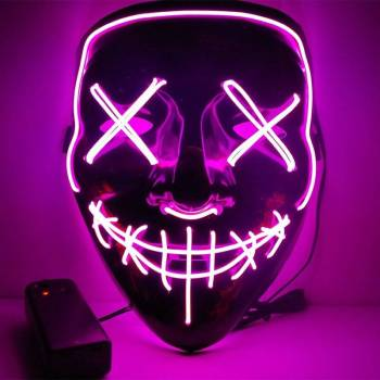 HTB1tQvQaND1gK0jSZFsq6zldVXaZ Halloween Party Led Mask  - Super Cool  Halloween Accessories