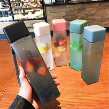 Plastic Water Bottle Portable And Transparent Outdoor – Bottle
