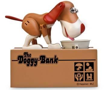 Money Eating Dog Piggy Bank