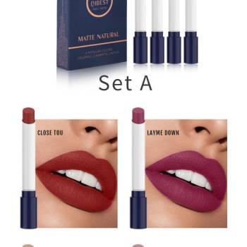 H3062c1225d06415087d3d604615551d1u 1 Velvet matte Cigarette Lipstick - WaterProof