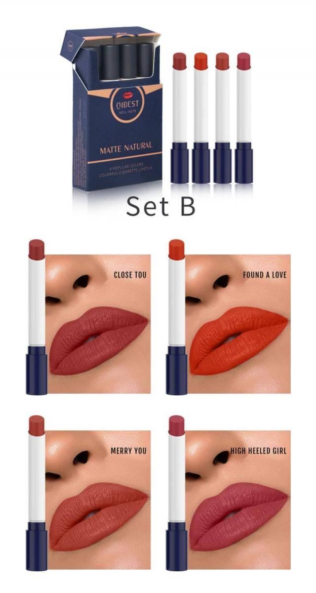 Velvet matte Cigarette Lipstick – WaterProof