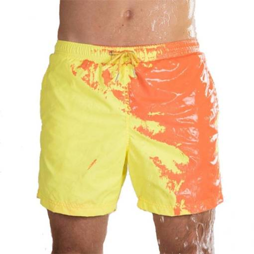 Magical Change Color Beach Shorts Summer Men Swimming Trunks Swimwear Swimsuit Quick Dry bathing shorts Beach Must-Have Summer Gifts You Will Love