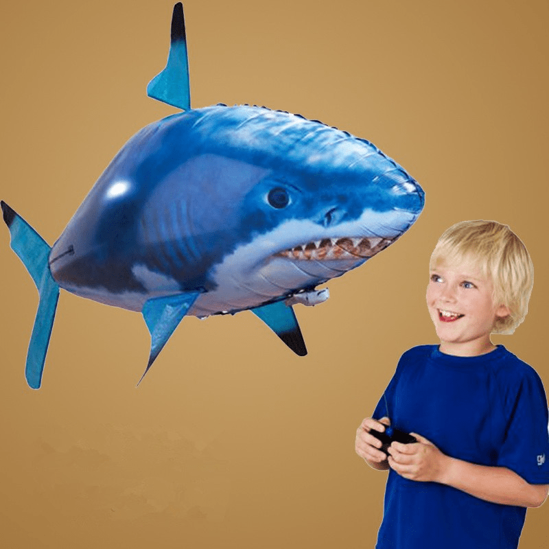 Awesome Remote Control Flying Shark Toy