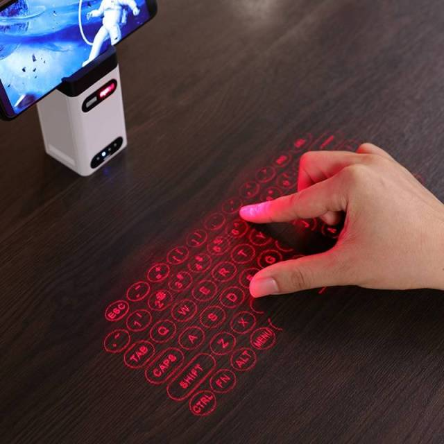 Laser Projection Bluetooth Virtual Keyboard and Mouse