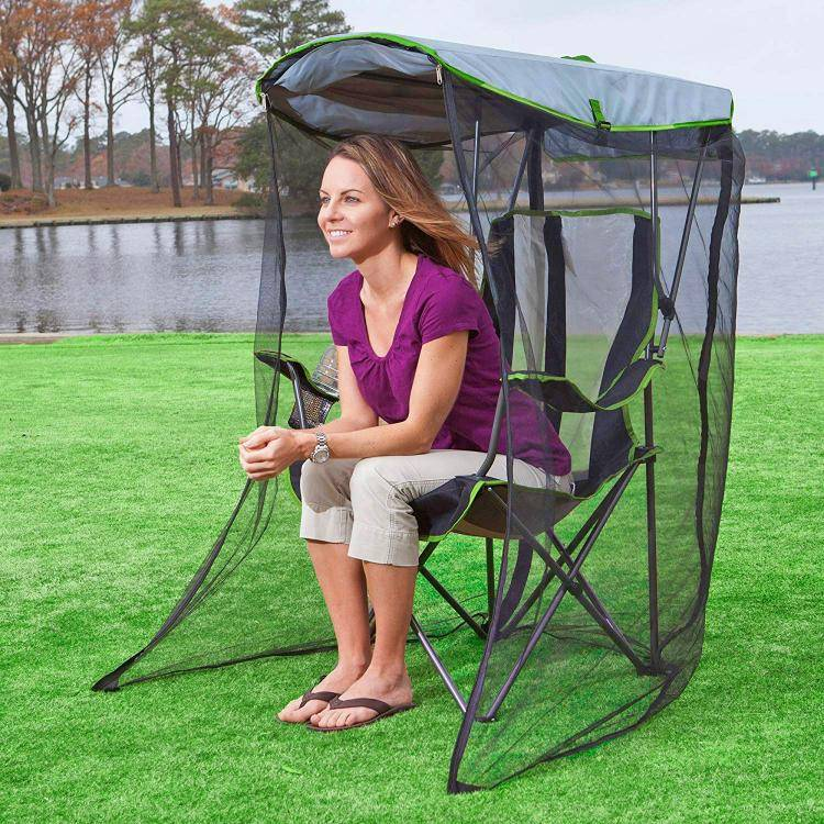 Awesome Canopy Chair With Mosquito Protector https://gadkit.com