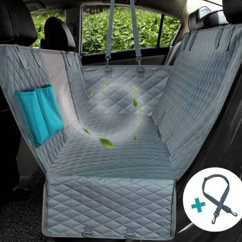 Pet Dog Travel Mat – Mesh Dog Carrier Car Hammock