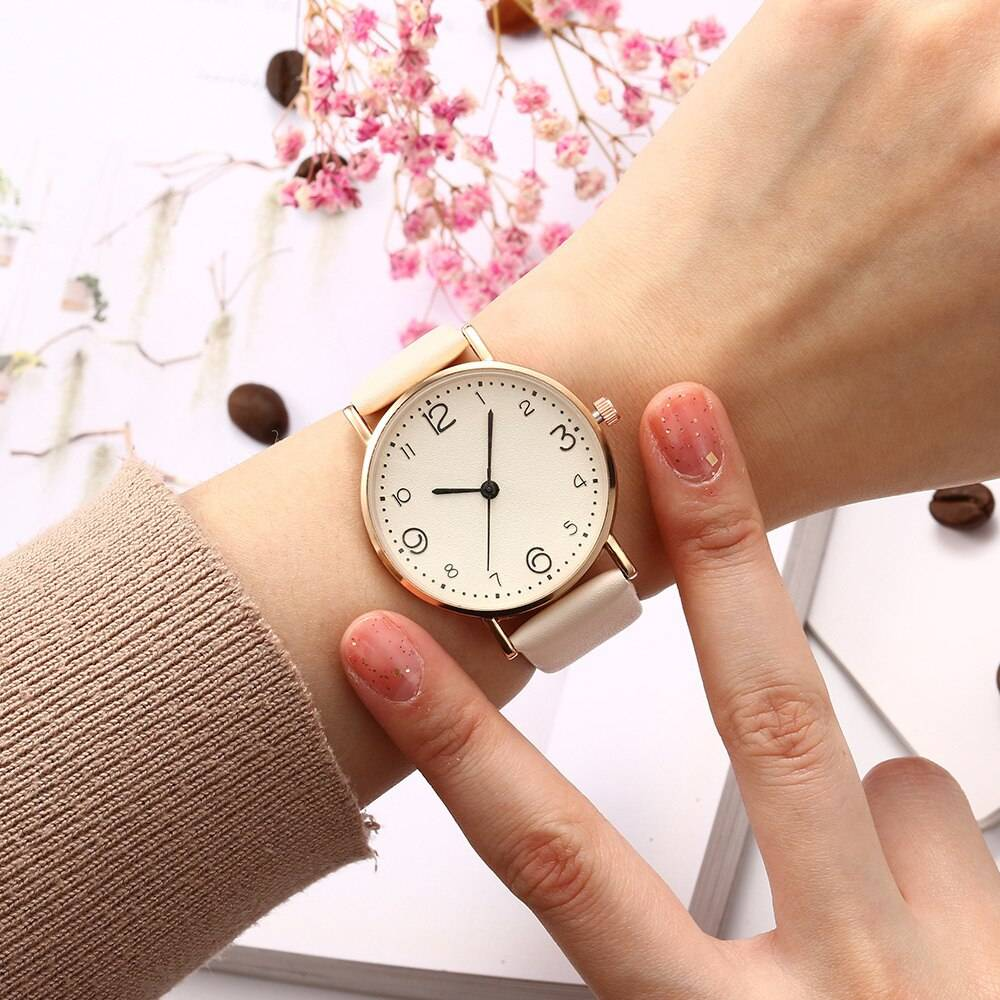 H86853d596c2b4e3cb56012fa9c11d9c6z Pink Quartz Watch Women's