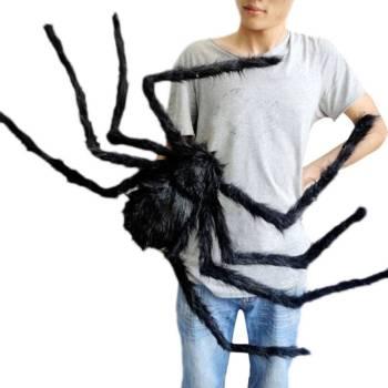 Scarry Black Spider Halloween Decoration Gadkit 3 Scarry Black Spider Halloween Decoration