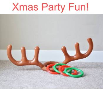 23965 0437a7 Christmas Party Inflatable Reindeer Game
