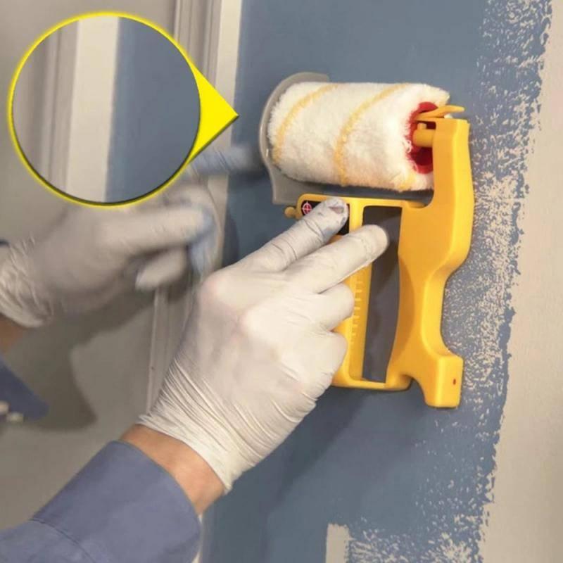 H6119aa43e0ce47e7a1ee6932db412ccay Clean Cut Paint Edger Roller Brush