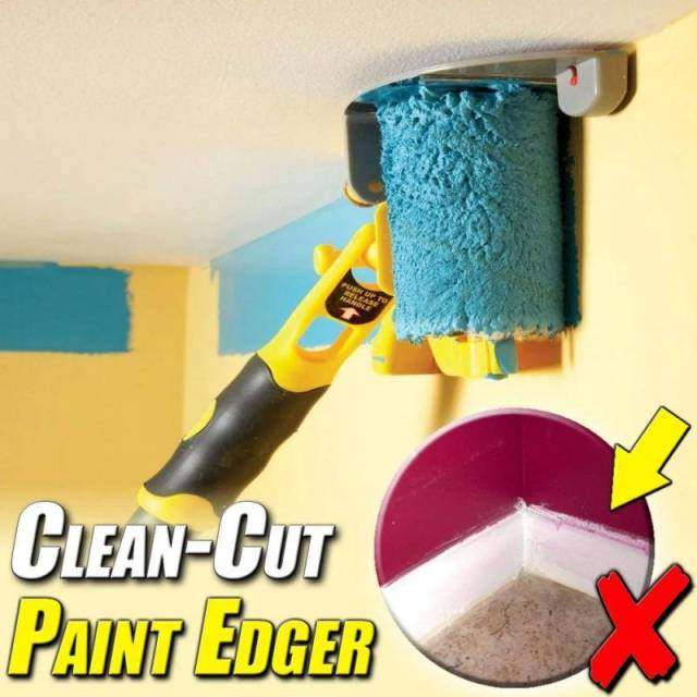 Clean Cut Paint Edger Roller Brush