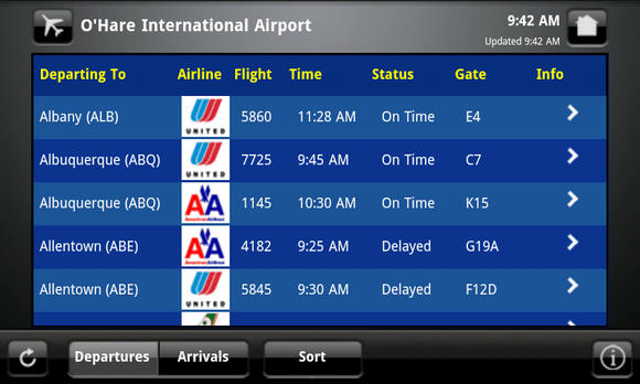 Image result for airline arrival screens