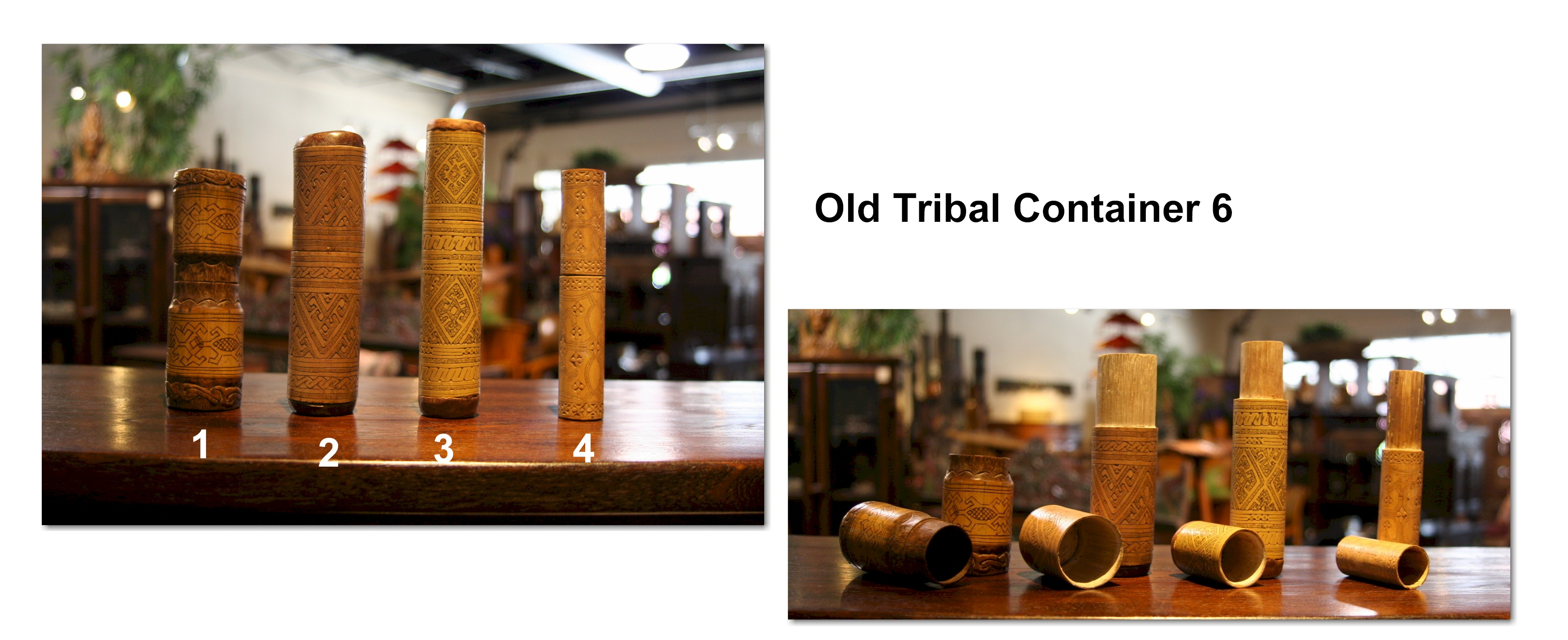 Old Tribal Container 6