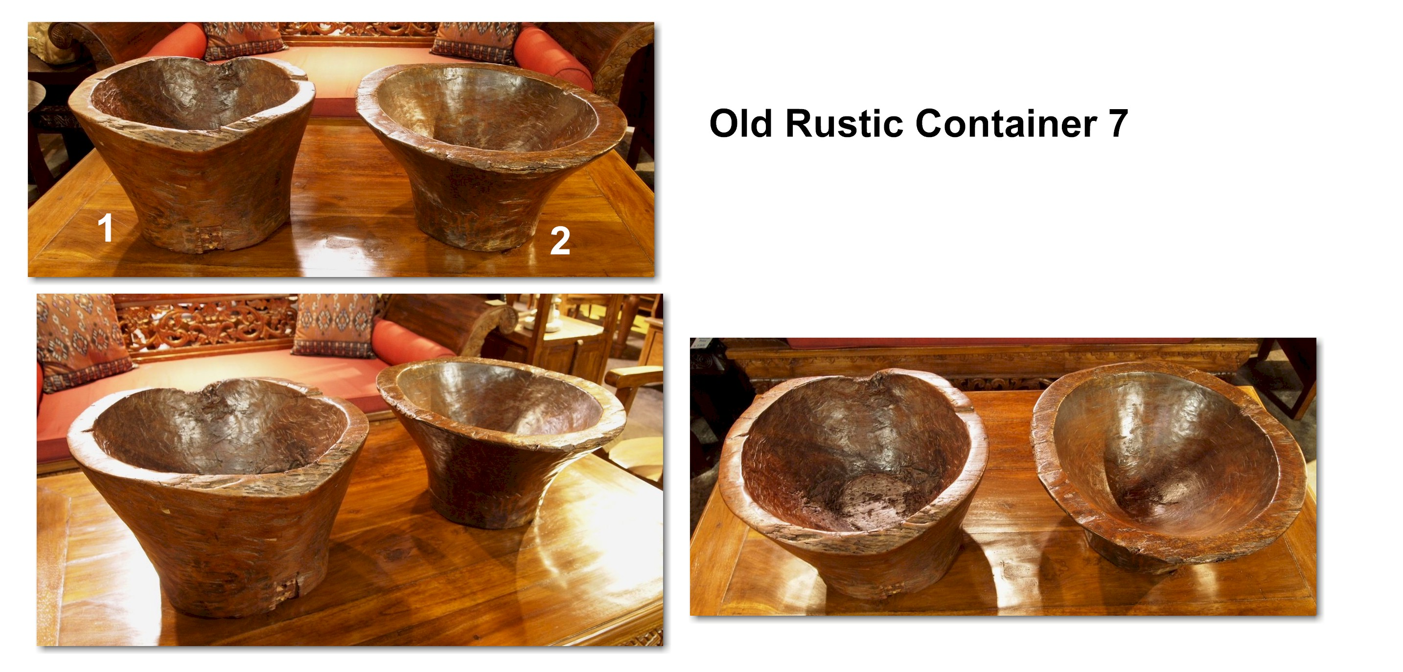 Old Rustic Container 7