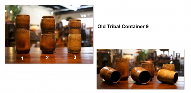 Old Tribal Container 9