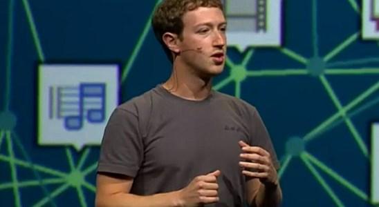 Marck Zuckerberg en la Facebook F8