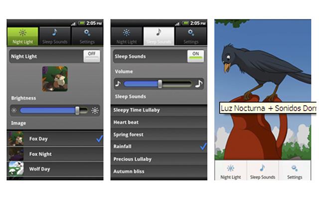 Aplicación SleepCare para iPhone