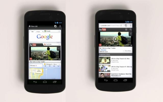 Chrome para Android en Beta