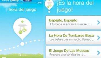 La app Amazing Baby ayuda a estimular al bebé