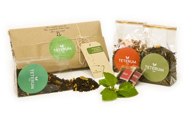 Con Teterum.com, un pack de tés sorpresa te llega por suscripción.