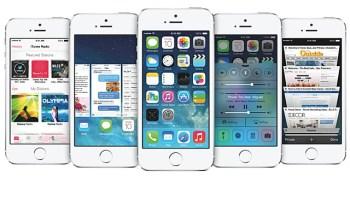 Apple iOS7 iPhone iPad