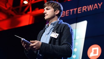 Ashton Kutcher Lenovo Yoga