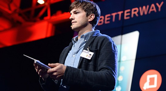 Ashton Kutcher Lenovo Yoga