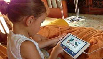 juego tablet niña