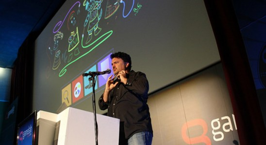 Tim Schafer en Gamelab 2014