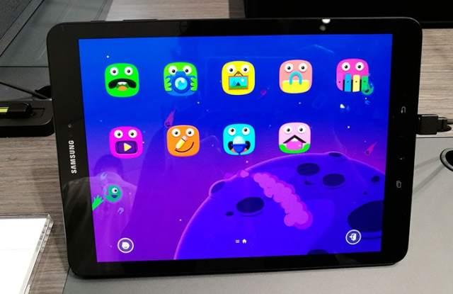 Samsung Galaxy Tab S3 con modo niños