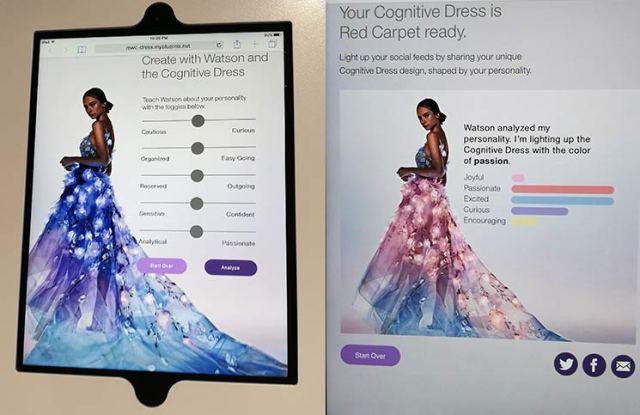 Vestido cognitivo con IBM Watson en MWC172