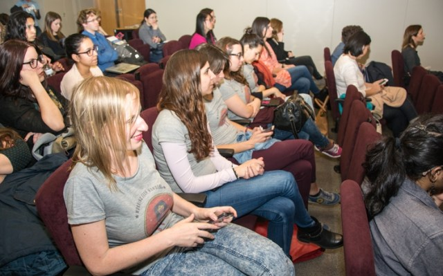 Asistentes a Women Techmakers Barcelona