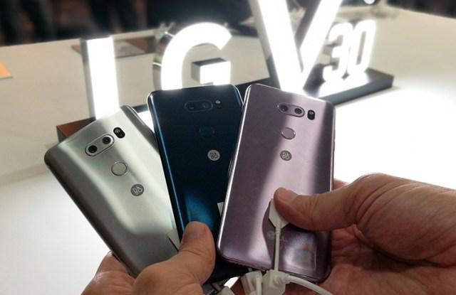 Colores LG V30