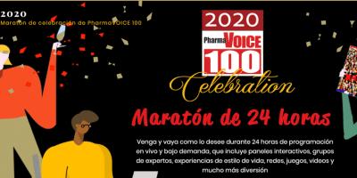 2020  Maratón de celebración de PharmaVOICE 100