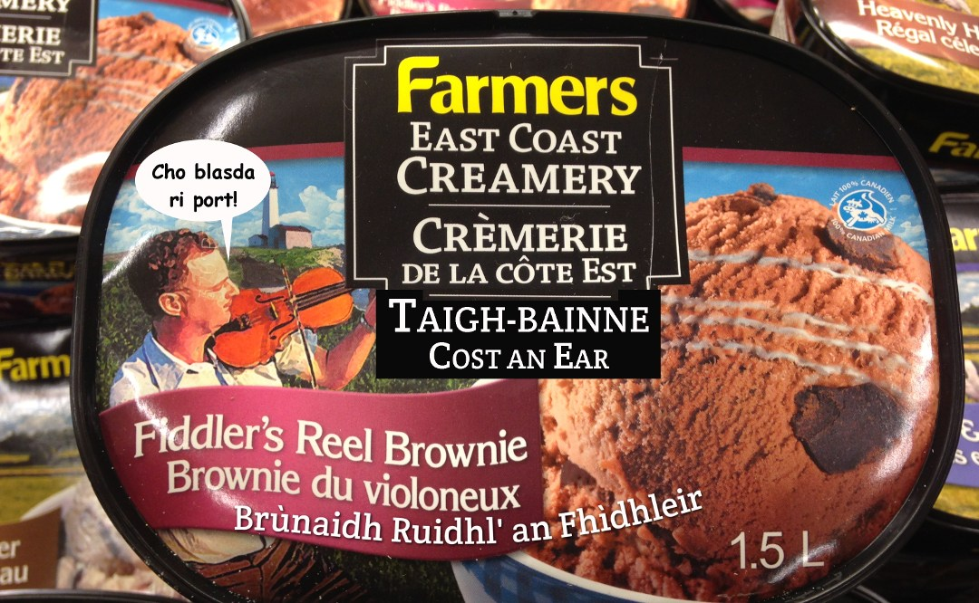 Gaelic ice cream – blas an fhìdhle?