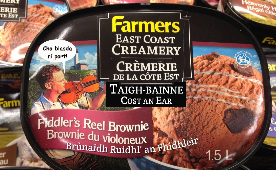 Gaelic ice cream – blas an fhìdhle?