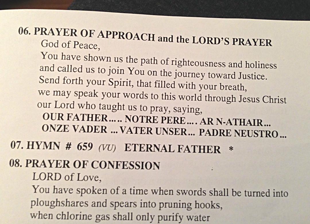 ar n athair the lord u0027s prayer in gaelic gaelic revitalization