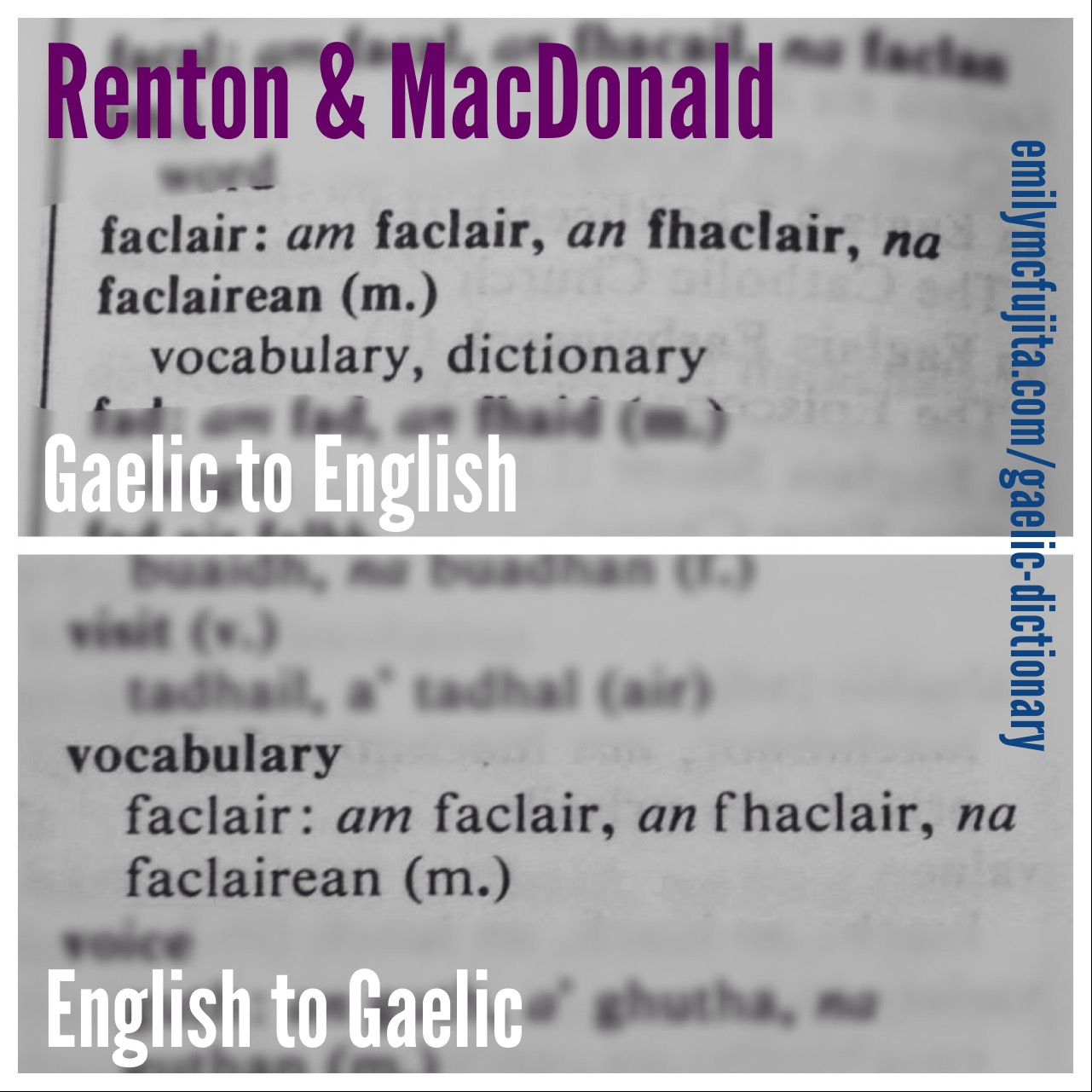How to read and write gaelic - An Excerpt From Renton Macdonald S Abair Alternatively Titled Scottish Gaelic English English Scottish Gaelic Dictionary