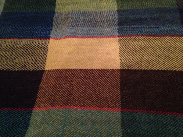 Wool cloth woven by NSCAD textile students