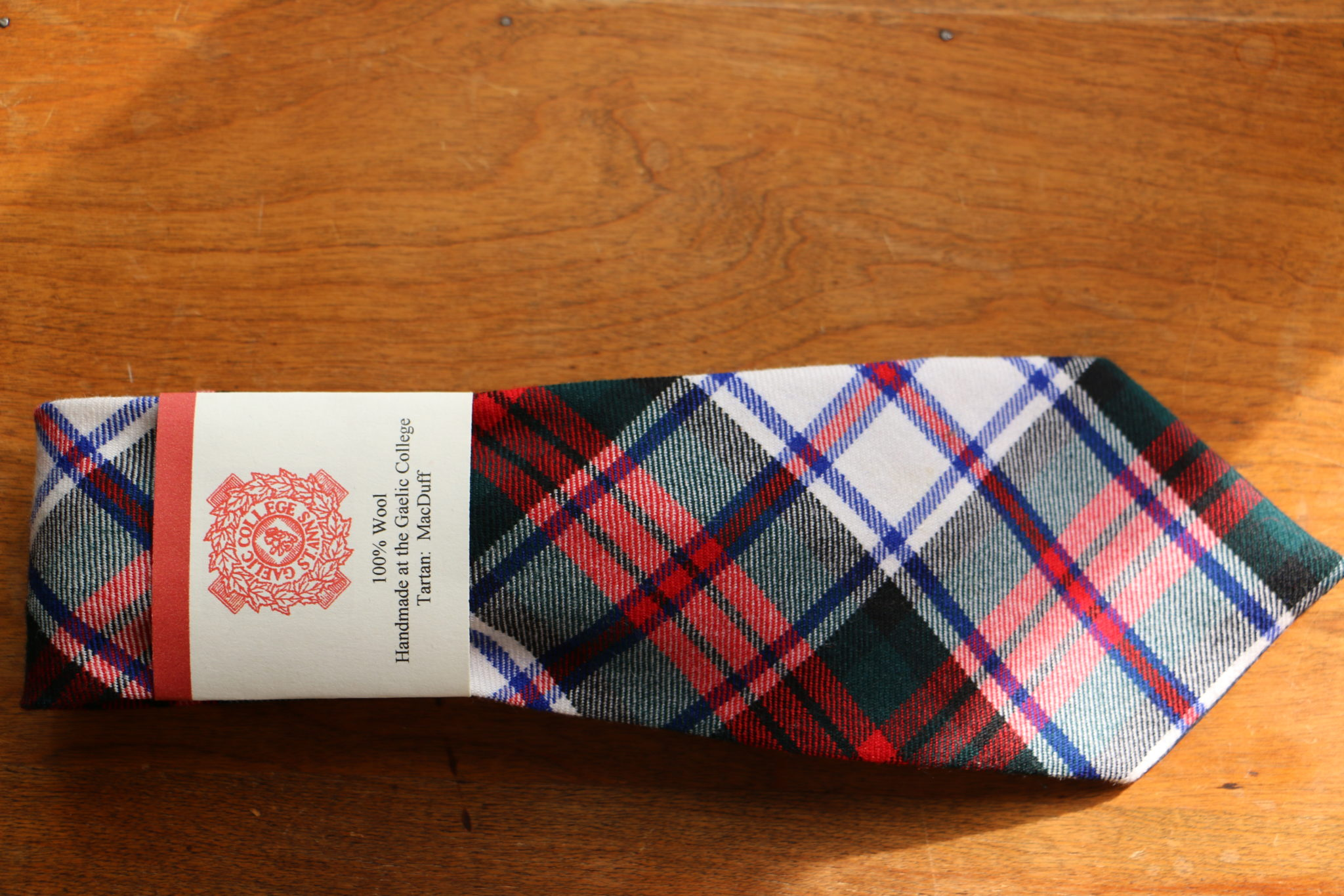 Clan Tie Campbell of Argyll Ancient Tartan Pure Wool Scottish Handmade Necktie