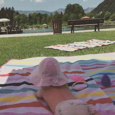 Badespaß Gänseblümchen & Sonnenschein