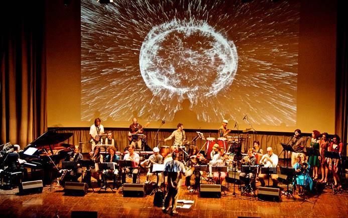 1 Artchipel Orchestra con Beppe Barbera 525170_4282274559842114303_n