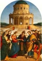 Raffaello Sanzio-Lo sposalizio della Vergine Blog