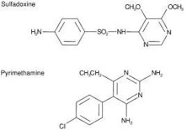 Sulfadoxine and pyrimethamine (SP) | uses | side-effects