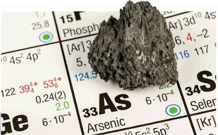 Arsenic is a metalloid - a natural element that is not actually a metal but which has some of the properties of a metal