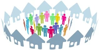 Key actors in the community health-care system