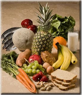 What foods provide a good balance of nutrients?