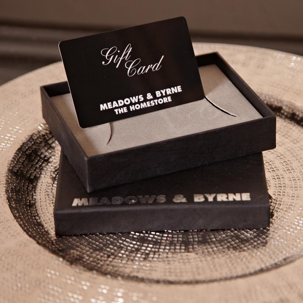 meadows & byrne gift card