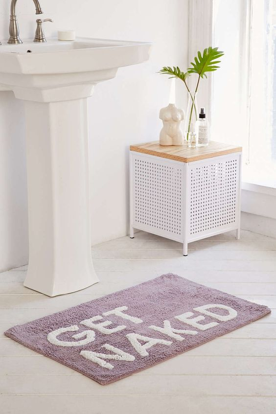 Urban outfitters get naked shower mat