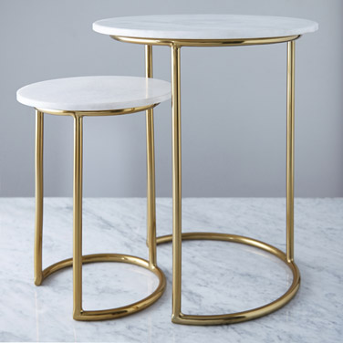 Helen James Considered Marble Top Table €60 - €100